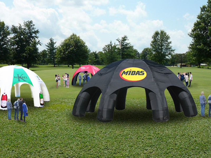 inflatable spider tents