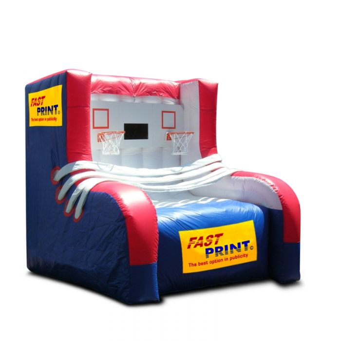 inflatable game for trade shows and fairs