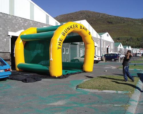 custom inflatable golf game