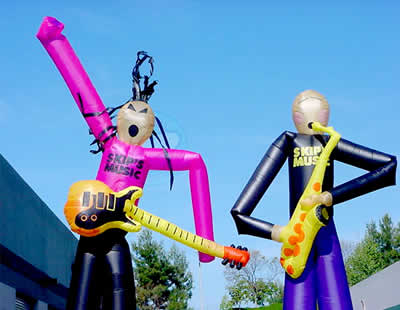 inflatables dancing men
