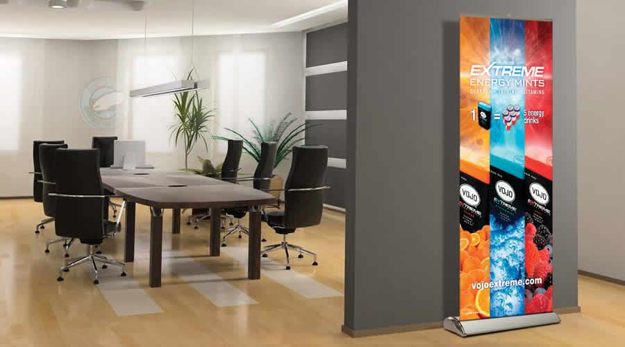 Retracrtable Banner Displays