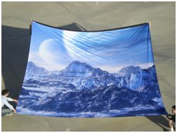 Large Fabric Print