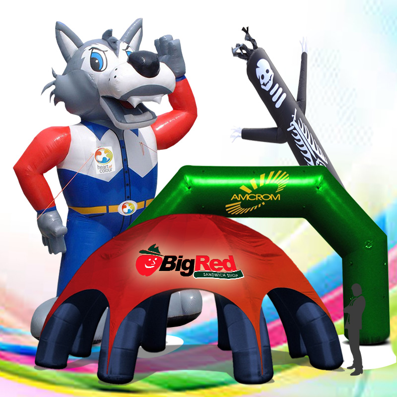 Custom Inflatables for Business Promotions