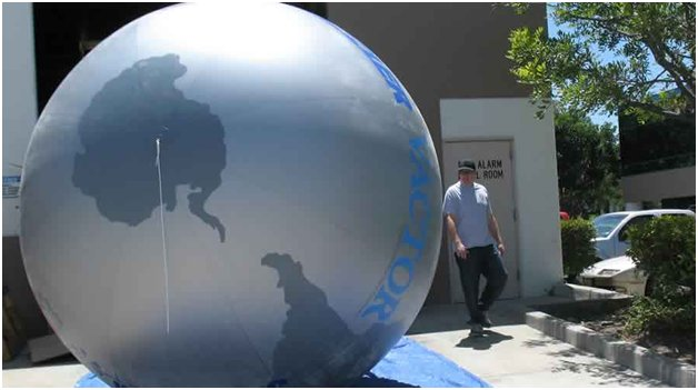 inflatable sphere ball