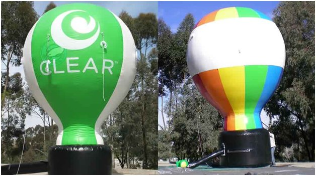 inflatable hot air ballon shapes