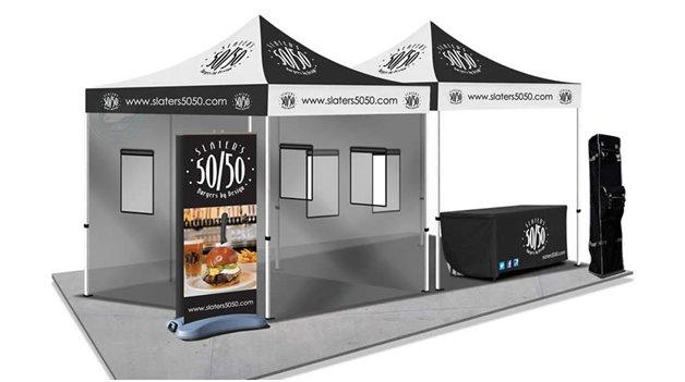 Food Service Tent