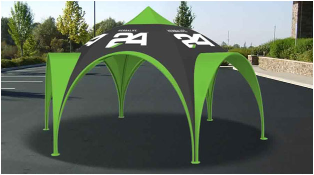 Custom Printed Action Tent