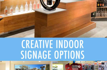 10 Unique Types of Signs to Use Indoors.