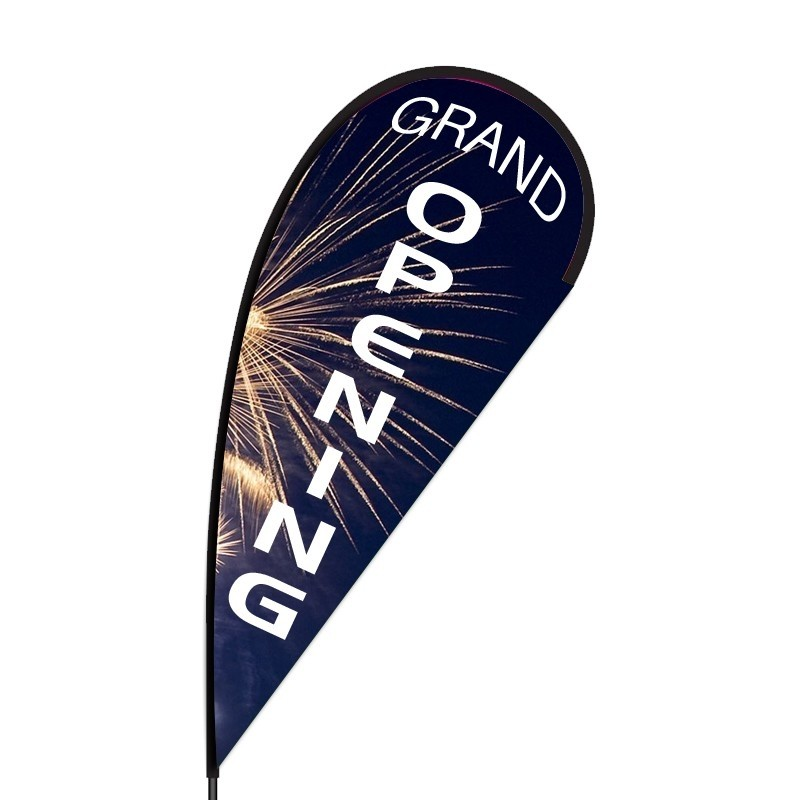 grocery store grand opening flag