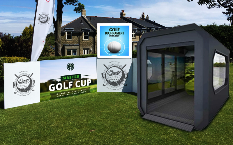 container pods for storage - golf pods