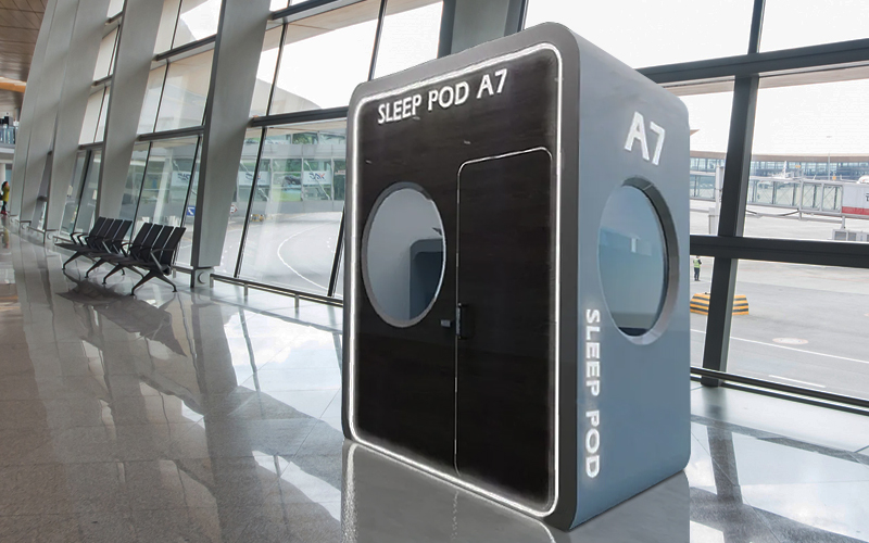 sleeping pods